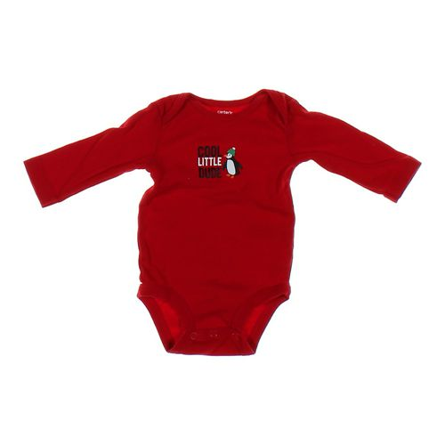"""Carter's """"Cool Little Dude"""" Bodysuit in size 3 mo at up to 95% Off - Swap.com"""