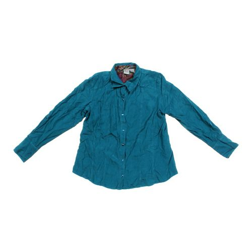 duo Maternity Corduroy Button-up Shirt in size M at up to 95% Off - Swap.com