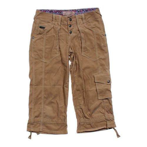 Candie's Corduroy Capri Pants in size JR 5 at up to 95% Off - Swap.com