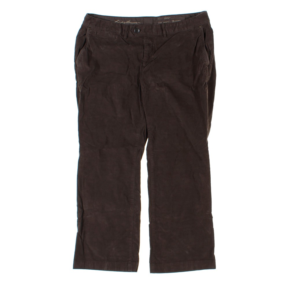 0bdb203945 Eddie Bauer Corduroy Casual Pants in size 18 at up to 95% Off - Swap