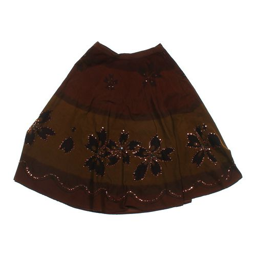 La Lasse Couture Corduroy Embellished Skirt in size S at up to 95% Off - Swap.com