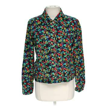 Corduroy Floral Jacket for Sale on Swap.com