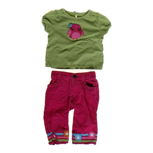 Gymboree Corduroy Pants & Shirt Set in size 6 mo at up to 95% Off - Swap.com