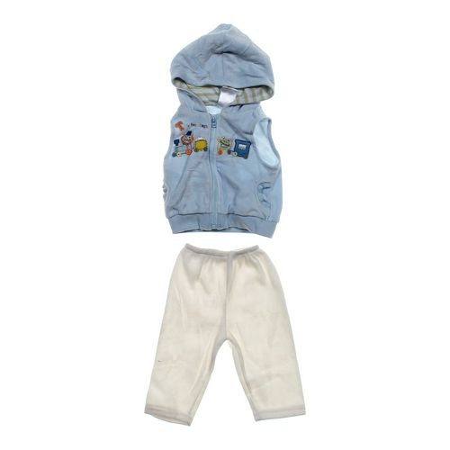 Baby Einstein Cozy Hooded Vest & Sweatpants Outfit in size 9 mo at up to 95% Off - Swap.com