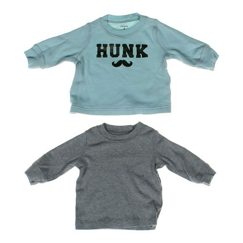 Carter's Cozy Shirt Set in size 3 mo at up to 95% Off - Swap.com