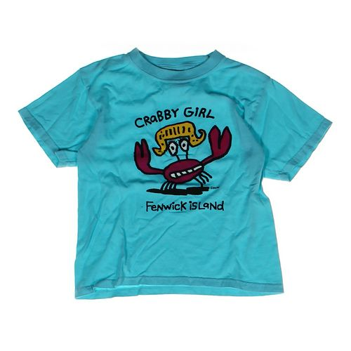 """""""Crabby Girl"""" T-shirt in size 8 at up to 95% Off - Swap.com"""