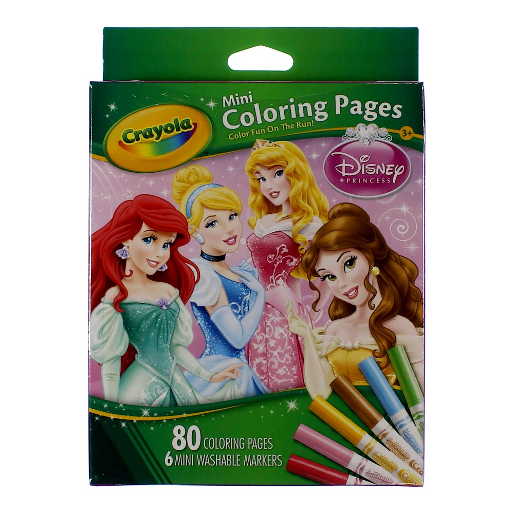 Crayola Giant Coloring Pages Disney Princess : Crayola colouring pages disney princess mini