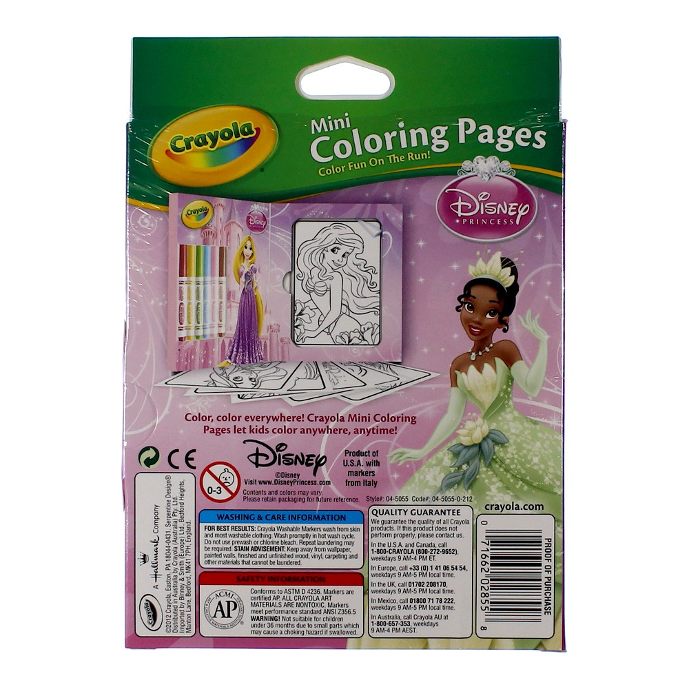 Mini Coloring Pages Disney Princess Mini colouring pages disney