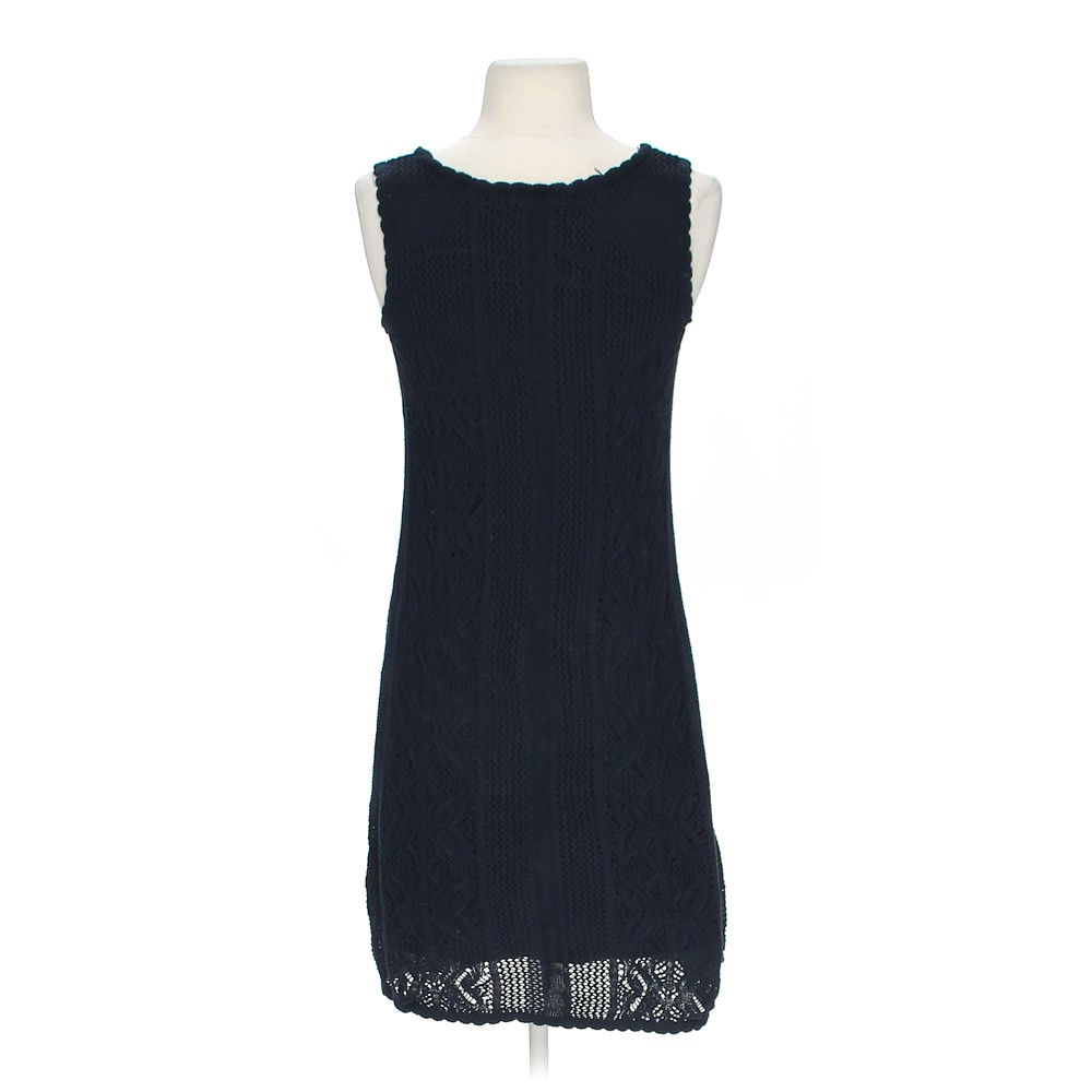 ab studio crocheted dress in size s at up to 95 off