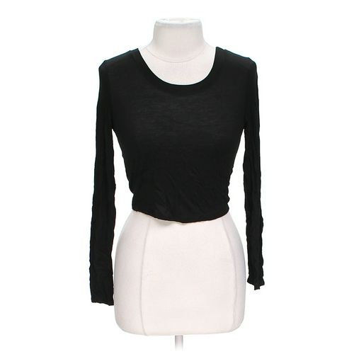 Body Central Crop Shirt in size L at up to 95% Off - Swap.com