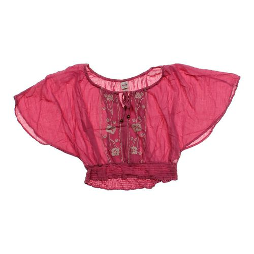 Mossimo Supply Co. Cropped Angel Sleeve Shirt in size JR 11 at up to 95% Off - Swap.com