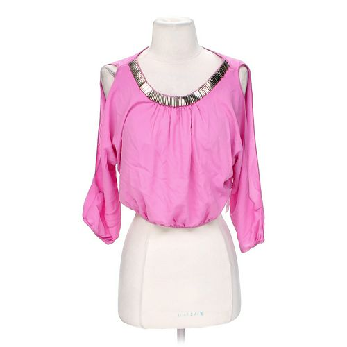 Body Central Cropped Blouse in size S at up to 95% Off - Swap.com