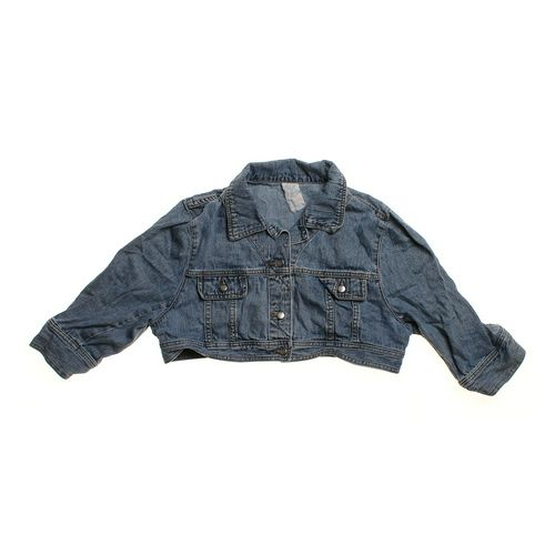 Cropped Denim Jacket in size JR 7 at up to 95% Off - Swap.com