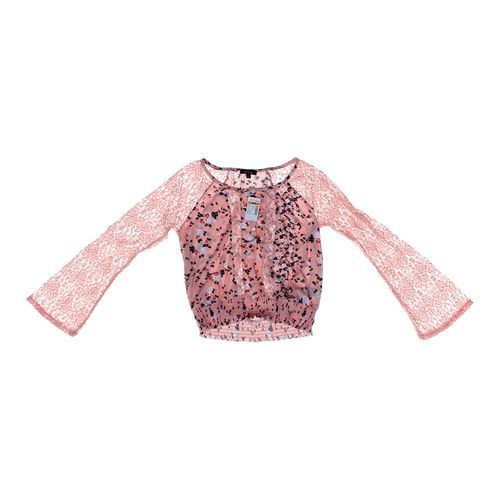 Deb Cropped Layering Shirt in size JR 3 at up to 95% Off - Swap.com