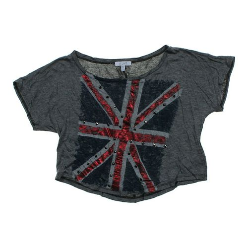 Delia's Cropped Shirt in size JR 3 at up to 95% Off - Swap.com