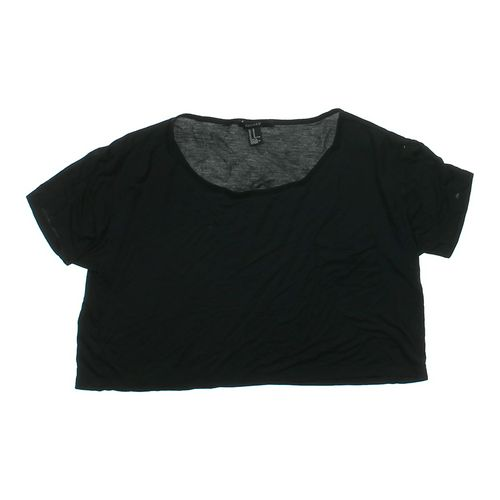 Forever 21 Cropped Shirt in size JR 7 at up to 95% Off - Swap.com