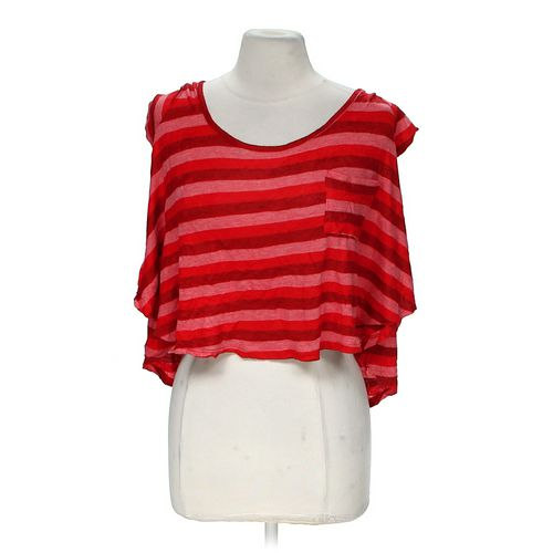 Pretty Rebellious Cropped Striped Shirt in size M at up to 95% Off - Swap.com