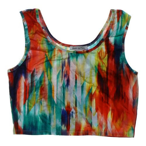 Body Central Cropped Tank Top in size JR 11 at up to 95% Off - Swap.com