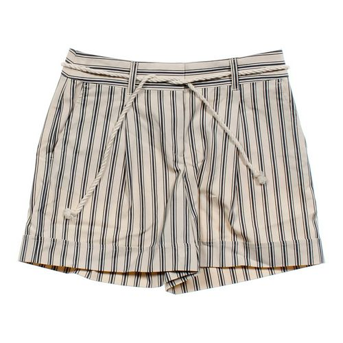Ann Taylor Cuffed Striped Shorts in size 6 at up to 95% Off - Swap.com