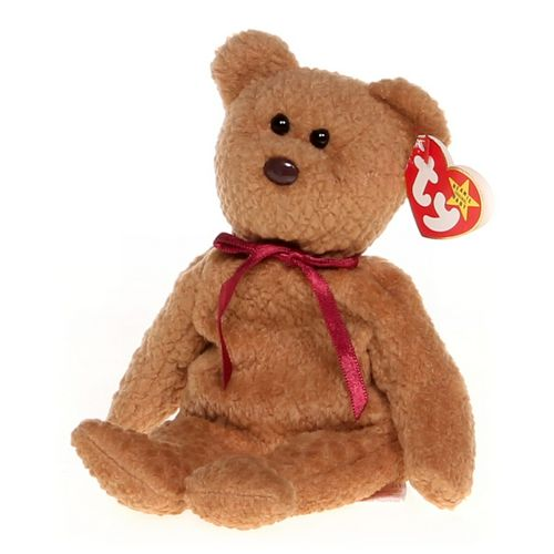 Ty Curly the Bear Beanie Baby at up to 95% Off - Swap.com