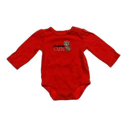 "Carter's ""Cute"" Bodysuit in size 12 mo at up to 95% Off - Swap.com"