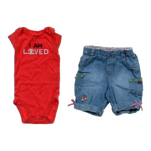 Child of Mine Cute Bodysuit & Jeans Set in size NB at up to 95% Off - Swap.com