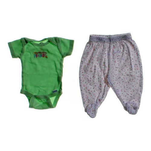 Gerber Cute Bodysuit & Pants in size NB at up to 95% Off - Swap.com