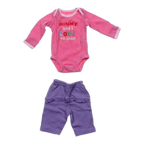 Carter's Cute Bodysuit & Pants Set in size NB at up to 95% Off - Swap.com