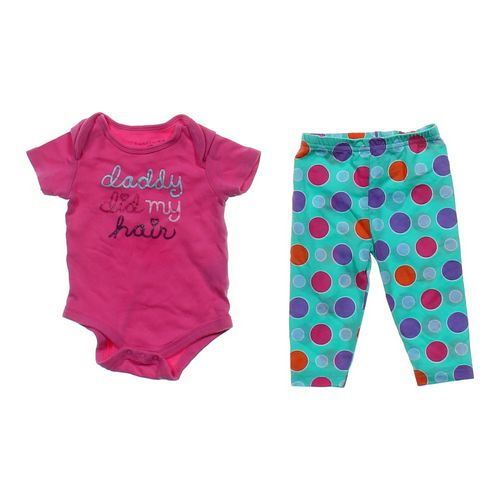 Faded Glory Cute Bodysuit & Pants Set in size 3 mo at up to 95% Off - Swap.com