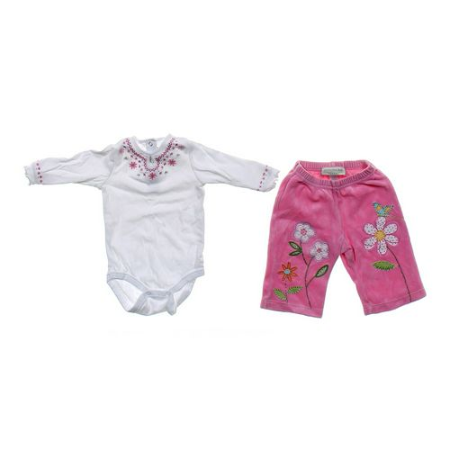 Pottery Barn Kids Cute Bodysuit & Pants Set in size 3 mo at up to 95% Off - Swap.com