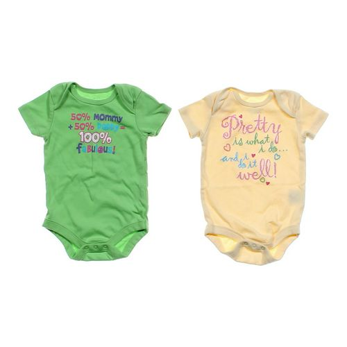 Faded Glory Cute Bodysuit Set in size 3 mo at up to 95% Off - Swap.com
