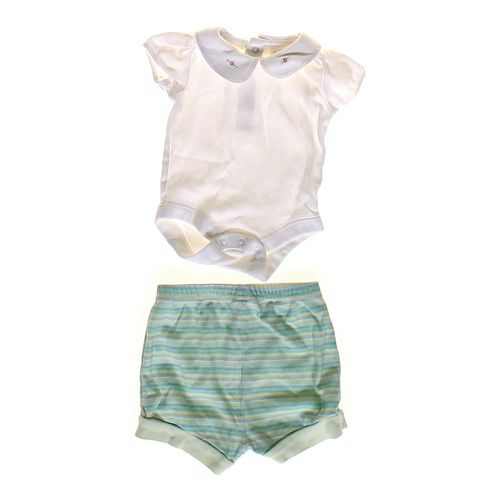 babyGap Cute Bodysuit & Striped Shorts in size NB at up to 95% Off - Swap.com