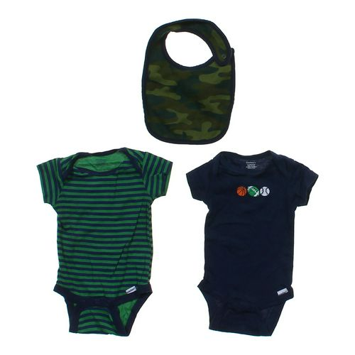 Gerber Cute Bodysuits & Bib Set in size One Size at up to 95% Off - Swap.com