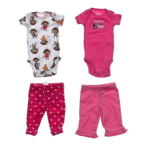 Just One You Cute Bodysuits & Pants Sets in size NB at up to 95% Off - Swap.com