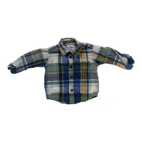 The Children's Place Cute Button-up Shirt in size 6 mo at up to 95% Off - Swap.com
