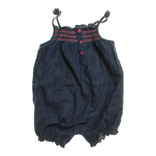 Cute Chambray Romper in size 12 mo at up to 95% Off - Swap.com