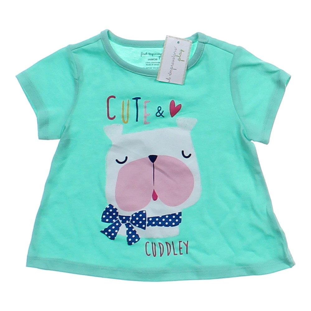 first impressions cute cuddley t shirt online consignment. Black Bedroom Furniture Sets. Home Design Ideas