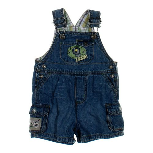 Little Me Cute Denim Shortalls in size 12 mo at up to 95% Off - Swap.com