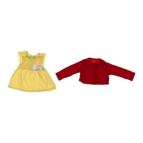 Little Lass Cute Dress & Shrug Set in size 6 mo at up to 95% Off - Swap.com