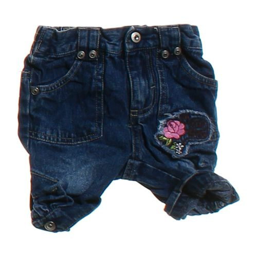 XOXO Cute Embroidered Denim Shorts in size 12 mo at up to 95% Off - Swap.com