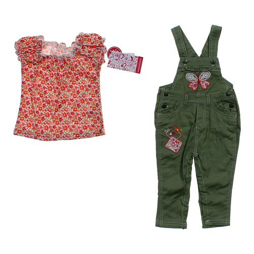 Young Hearts Cute Floral Outfit in size 24 mo at up to 95% Off - Swap.com