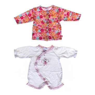 Cute Floral Print Shirt & Dainty Romper for Sale on Swap.com