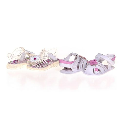 Koala Kids Cute Floral Sandals Set in size 3 Infant at up to 95% Off - Swap.com
