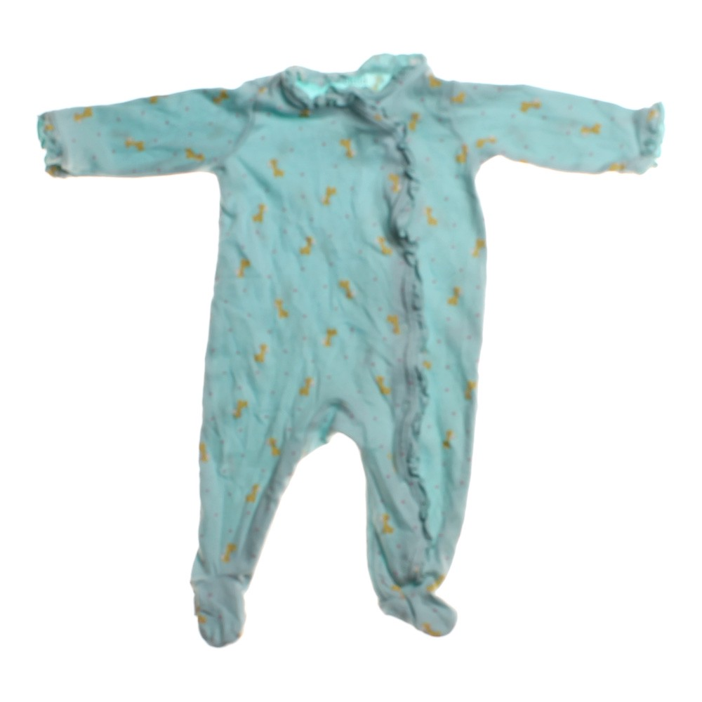 28be35d36 Child of Mine Girls Cotton Footed Pajamas