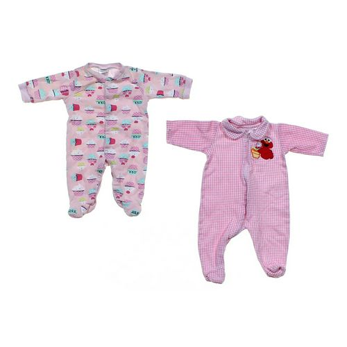 Cutie Pie Cute Footed Pajamas Set in size NB at up to 95% Off - Swap.com