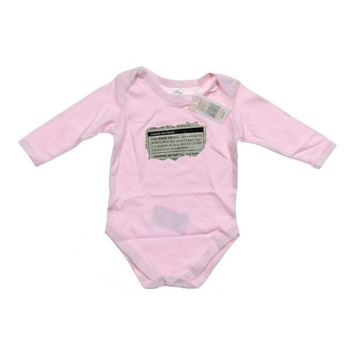 Baby Talk Cute Graphic Bodysuit in size 9 mo at up to 95% Off - Swap.com