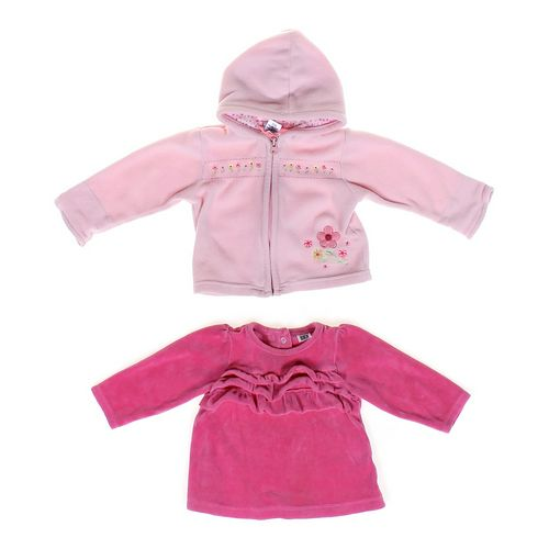 Carter's Cute Hoodie & Velour Shirt Set in size 12 mo at up to 95% Off - Swap.com