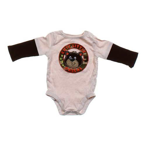 """Garanimals """"Cute Little Rascal"""" Bodysuit in size 12 mo at up to 95% Off - Swap.com"""