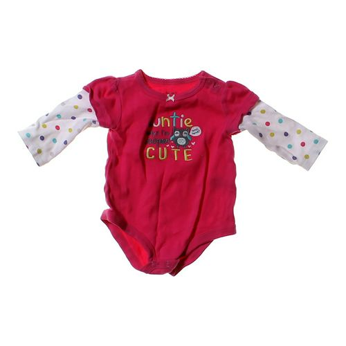 Carter's Cute Mock Layer Bodysuit in size 6 mo at up to 95% Off - Swap.com