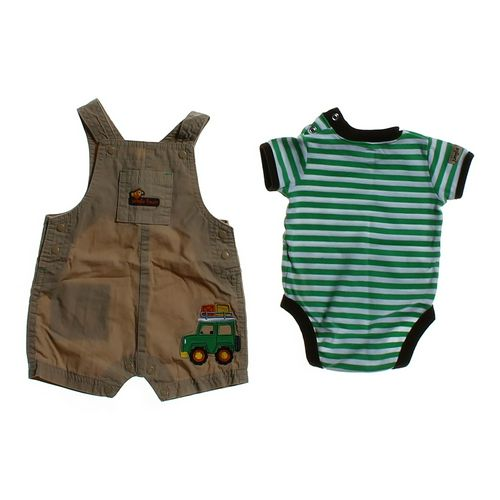 Just One You Cute Overalls & Bodysuits Set in size 3 mo at up to 95% Off - Swap.com